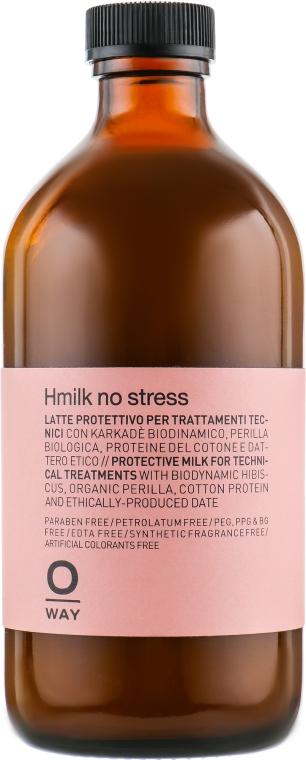 Защитное кондиционирующее молочко для волос - Oway Hmilk No Stress