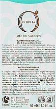 Масло-догляд з маслом аргана і маслом насіння льону - Barex Italiana Olioseta Oil Treatment for Hair — фото N3