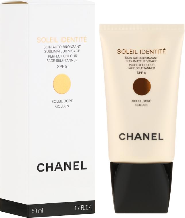 Средство для автозагара - Chanel Soleil Identite SPF 8 Dore Golden