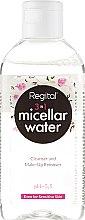 Духи, Парфюмерия, косметика Мицеллярная жидкость для удаления макияжа - Regital 3in1 Micellar Water Cleanser And Make-Up Remover