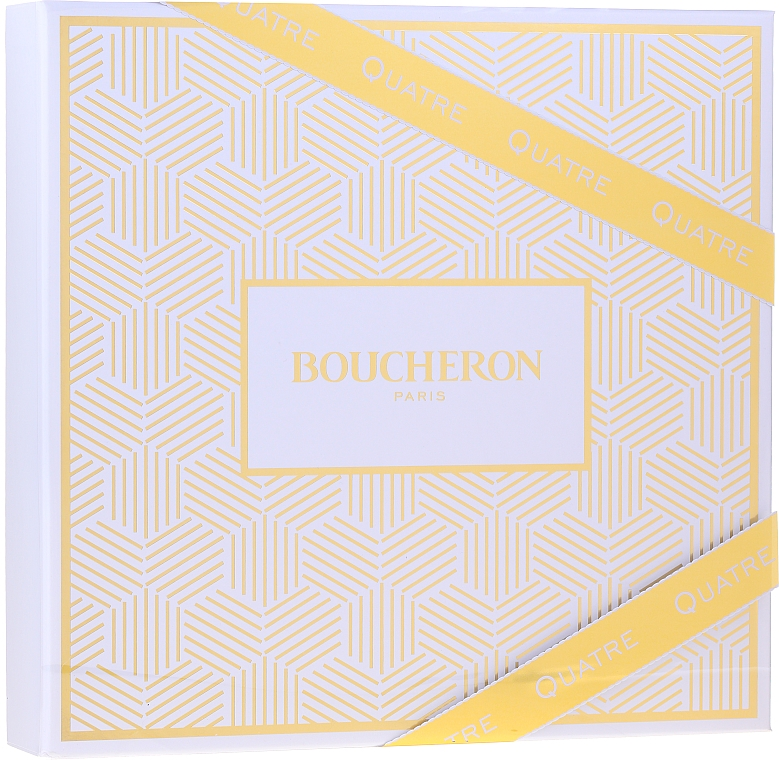 Boucheron Quatre Boucheron Pour Femme - Набор (edp/50ml + b/lot/50ml+ sh/gel/50ml)