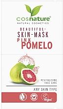 "Духи, Парфюмерия, косметика Маска для лица ""Розовый помело"" - Cosnature Beautiful Skin Mask Pink Pomelo"