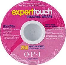 Духи, Парфюмерия, косметика Фольга-обертка в рулоне - O.P.I. Expert Touch Removal Wraps Count Roll