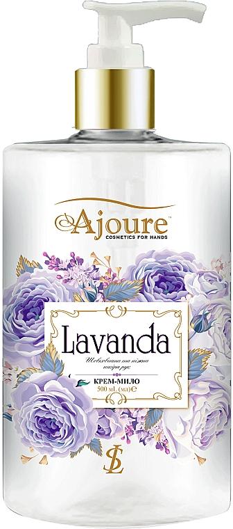 """Крем-мыло для рук """"Лаванда"""" - Ajoure"""