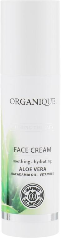 Успокаивающий крем для лица с алоэ вера - Organique Calming Therapy Face Cream