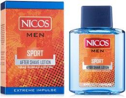 Духи, Парфюмерия, косметика Лосьон после бритья - Nicos Sport After Shave Lotion
