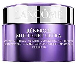 Парфумерія, косметика Антивіковий крем для обличчя з ефектом ліфтингу, збільшення пружності, рівного тону - Lancome Renergie Multi-Lift Ultra Cream SPF20