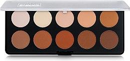 Духи, Парфюмерия, косметика Сухая палетка для контуринга лица - BH Cosmetics 10 Color Studio Pro Contour Palette
