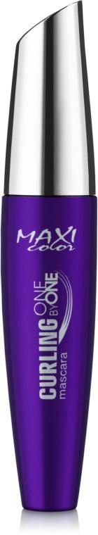 Тушь для ресниц - Maxi Color Curling One By One Mascara