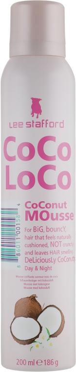 Мусс для волос - Lee Stafford Сосо Loco CoConut Mousse