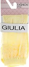 "Духи, Парфюмерия, косметика Носки для женщин ""WSM Cristal 005 calzino"", light yellow - Giulia"