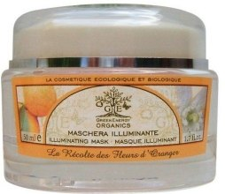 Духи, Парфюмерия, косметика Маска для лица - Green Energy Organics Face Gel Mask D'Orange