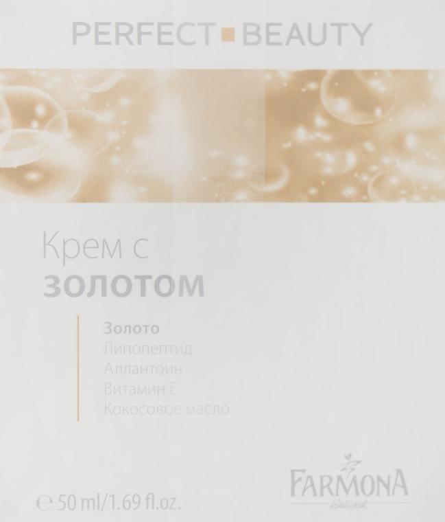 Крем омолаживающий для лица день/ночь - Farmona Perfect Beauty Face Cream With Gold & Vitamin E Day/Night