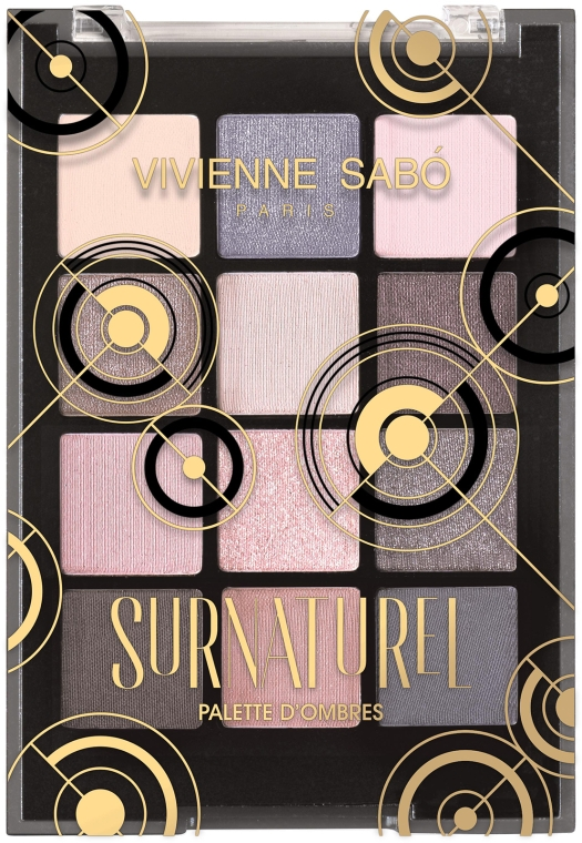 Палетка теней для век - Vivienne Sabo Surnaturel Eyeshadow Palette