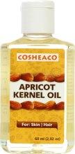 Духи, Парфюмерия, косметика Масло абрикосовых косточек для лица, волос и тела - Cosheaco Apricot Kernel Oil