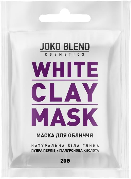 Белая глиняная маска для лица - Joko Blend White Clay Mask