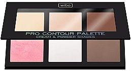 Духи, Парфюмерия, косметика Набор для контуринга лица - Wibo Pro Contour Palette