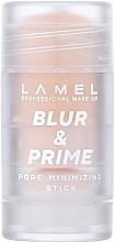Духи, Парфюмерия, косметика Праймер для лица - Lamel Professional Pore Minimizing Stick Blur & Primer