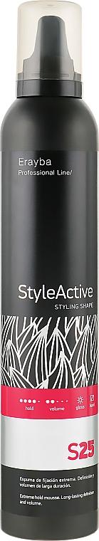 Пена для волос сильной фиксации - Erayba S25 Extreme Mousse