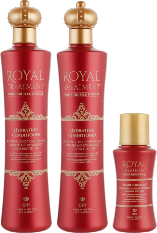 Набор - CHI Royal Treatment (sh/355ml + cond/355ml + pearl/59ml)