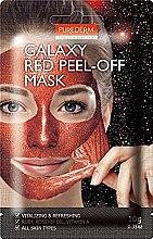 "Духи, Парфюмерия, косметика Маска-пилинг для лица ""Красная"" - Purederm Galaxy Red Peel-Off Mask"