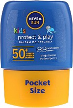 Духи, Парфюмерия, косметика Солнцезащитный лосьон SPF50 - Nivea Sun Care Kids Lotion