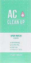 Парфумерія, косметика Точкові пластирі від запалень - Etude House AC Clean Up Spot Patch