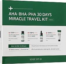 Духи, Парфюмерия, косметика Набор - Some By Mi AHA BHA PHA 30 Days Miracle Travel Kit (ton/30ml + ser/10ml + f/cr/20g)