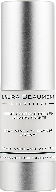 Отбеливающий крем вокруг глаз - Laura Beaumont Whitening Eye Contour Crem