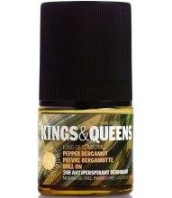 Духи, Парфюмерия, косметика Kings & Queens King of Sumatra Pepper and Bergamot - Дезодорант роликовый