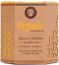 Духи, Парфюмерия, косметика Ароматизированная свеча банке - Song of India Organic Goodness Mysore Chandan Sandalwood Soy Wax Candle