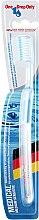 Духи, Парфюмерия, косметика Зубная щётка средней степени жесткости, голубая - One Drop Only Medical