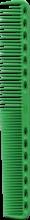 Духи, Парфюмерия, косметика Расческа для стрижки с плоскими зубцами, 180мм, зеленая - Y.S.Park Professional 339 Cutting Combs Green