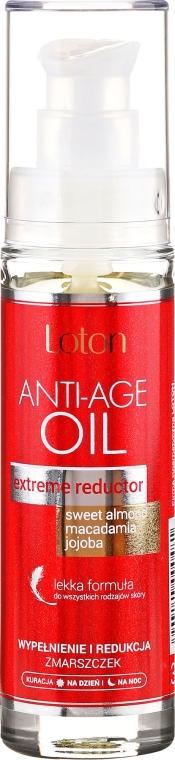 """Антивозрастное масло для лица """"Заполнение и уменьшение морщин"""" - Loton Anti-Age Oil"""