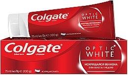 """Духи, Парфюмерия, косметика Отбеливающая зубная паста """"Optic White Искрящаяся белизна"""" - Colgate Optic White"""