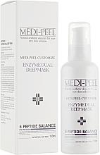 Духи, Парфюмерия, косметика Энзимная маска с эффектом пилинга - Medi Peel Enzyme Dual Deep Mask