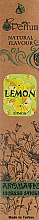 Парфумерія, косметика Аромапалички із заспокійливим ароматом лимона - MSPerfum