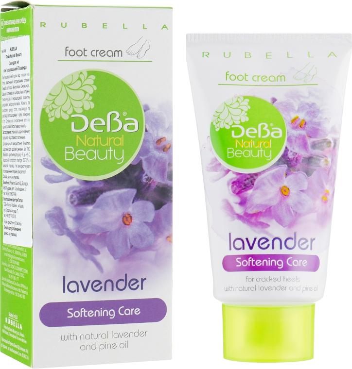 """Крем для ног смягчающий """"Лаванда"""" - DeBa Natural Beauty"""