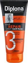 Духи, Парфюмерия, косметика Маска для сухих и поврежденных волос - Diplona Professional Your Repair Profi Mask