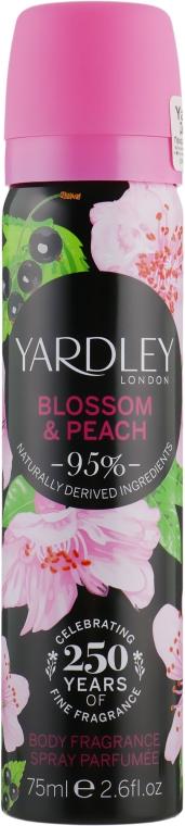 Дезодорант - Yardley Blossom & Peach Body Fragrance