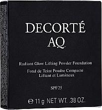 Духи, Парфюмерия, косметика Пудра для лица - Cosme Decorte AQ Radiant Glow Lifting Powder Foundation Refill (сменный блок)