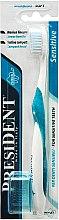 Духи, Парфюмерия, косметика Зубная щетка для чувствительных зубов, голубая - PresiDENT Sensitive