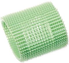 Духи, Парфюмерия, косметика Бигуди пластиковые мягкие 65 мм, зелёные - Olivia Garden