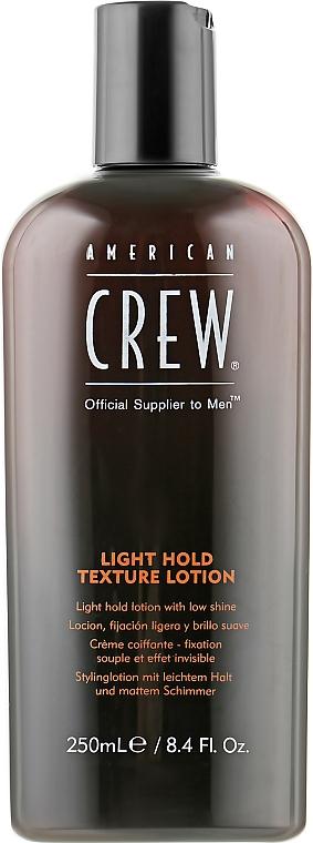 Лосьон для текстурирования волос - American Crew Classic Light Hold Texture Lotion