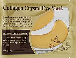 Духи, Парфюмерия, косметика Коллагеновая маска-патчи для кожи вокруг глаз - Dizao Crystal Collagen Gold