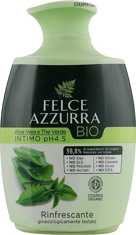 Жидкое мыло для интимной гигиены - Felce Azzurra BIO Aloe Vera&Green Tea