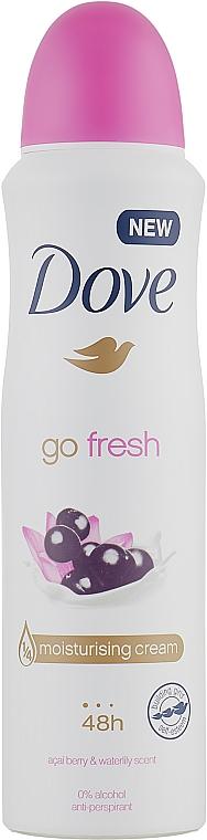 Дезодорант - Dove Go Fresh Acai Berry & Water Lily