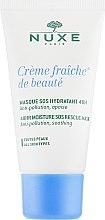 Маска для лица - Nuxe Creme Fraiche de Beaute Masque Hydratant — фото N2