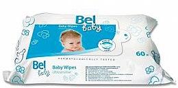 Духи, Парфюмерия, косметика Влажные салфетки для чувствительной кожи малыша - Bel Baby Wipes
