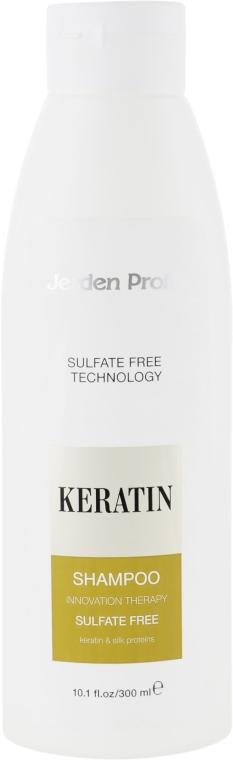 Шампунь для волос бессульфатный с кератином - Jerden Proff Sulfate Free Shampoo